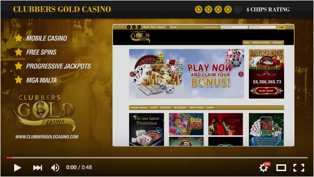 Gold Club Casino YouTube